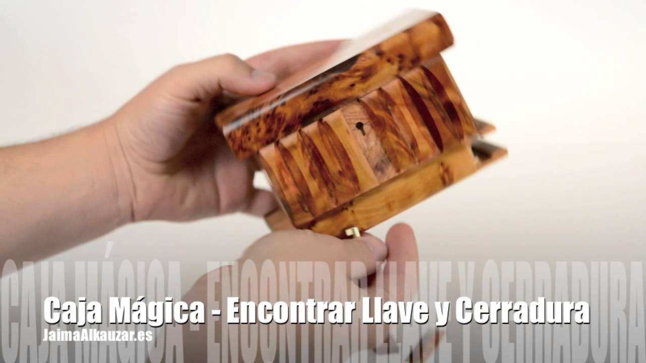 Caja magica secreta encontrar llave y cerradura for Cerraduras para muebles de madera