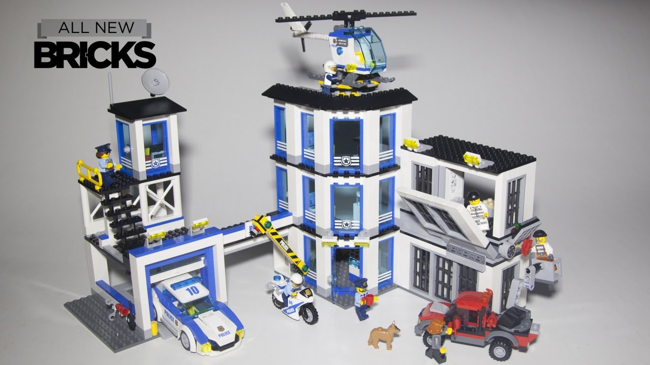 Lego City 60141 Police Station Speed Build - YouTube
