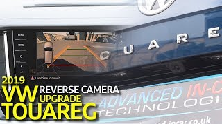 VW Touareg (CR) 2019 Trailer Assist Reverse Camera Upgrade