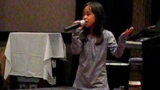 Geena Geneza singing Better In Time - June 28/09
