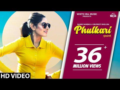 PHULKARI (Official Video) Baani Sandhu Ft Dilpreet Dhillon, Western Penduz | New Punjabi Song 2020