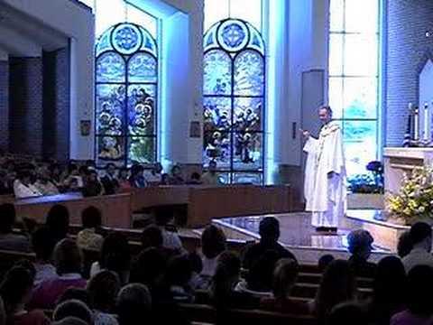 Part 1 Homily at St Joseph Parish Avon Lake 05-04-08