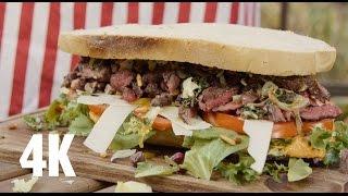 """Ultimate Steak Sandwich Vom """"beefer"""" - Bbq Grill Rezept Video - Die Grillshow 113"""