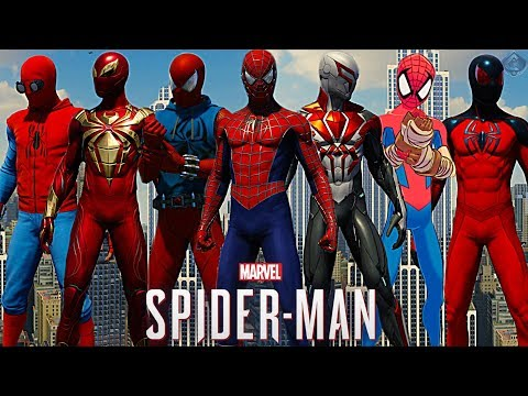 Spider-Man PS4 - ALL Suits Ranked from WORST to BEST