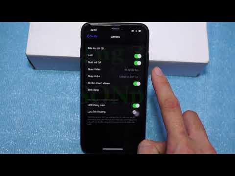 Hướng dẫn cách cài đặt Camera iPhone để quay video chất lượng cao nhất