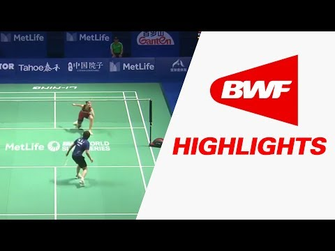 Tahoe China Open 2017 | Badminton QF – Highlights
