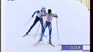 1998 02 12 ОИ Нагано 10 км женщины свободный стиль гонка преследования