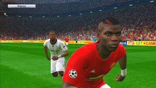 Manchester United vs Fenerbahce | UEFA Europa League | PES Gameplay PC
