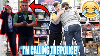FAKE WALMART EMPLOYEE PRANK! *CAUGHT*