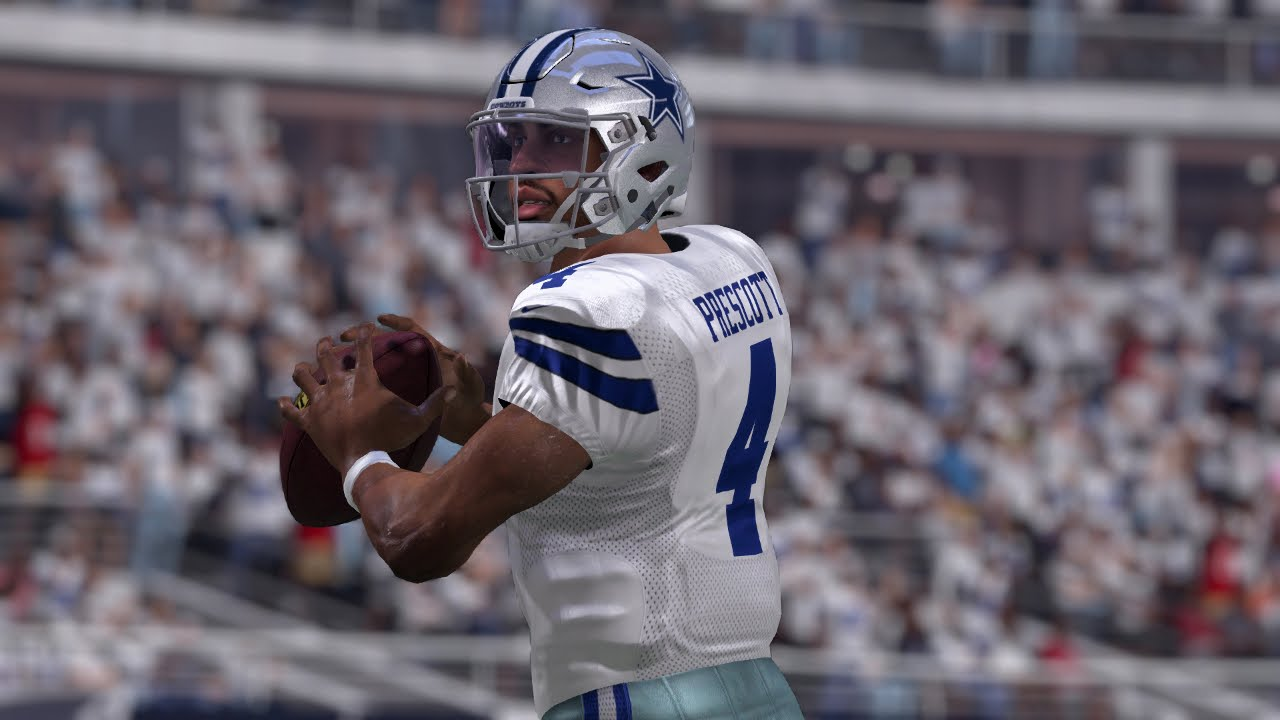 Dak Prescott Unstopable Passing Attack Dallas Cowboys Glitch Routes Dak Attack Madden 17 Youtube