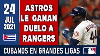 🇨🇺 RESUMEN CUBANOS en GRANDES LIGAS / 24 Jul 2021 ⭐