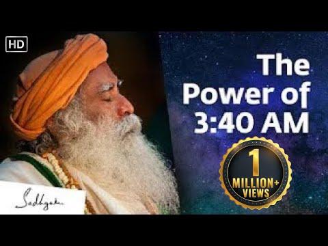 Something Phenomenal Happens at 3:40 AM – Sadhguru | Brahma Muhurtam