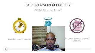 Watch me take a free personality test online
