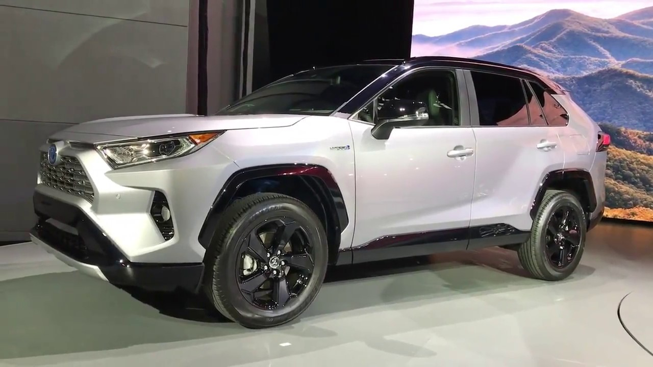 toyota rav4 2019 au salon de new york youtube. Black Bedroom Furniture Sets. Home Design Ideas