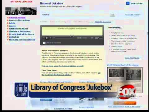 Library of Congress launches music jukebox