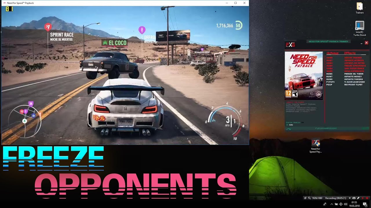 need for speed payback v1 10 trainer youtube. Black Bedroom Furniture Sets. Home Design Ideas