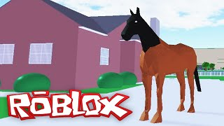 Roblox Adventures / The Neighborhood of Robloxia / I'm a Horse?!