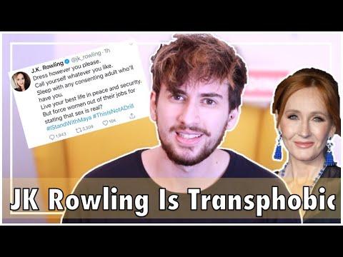 Is JK Rowling Transphobic? Trans Guy Reacts