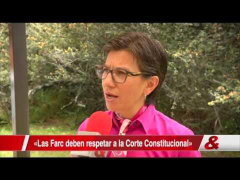 ONU y dirigentes políticos piden a las Farc respetar a la Corte Constitucional