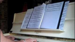 The Glitch Mob - Animus Vox piano cover