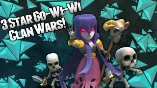 Clash of Clans - Gowiwi 3 Star Vs Max TH9 Clan War Attack