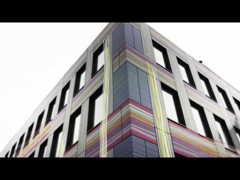 Watch this building transform with AluDesign by Euramax - Tuchfabrik Berlin (GE)