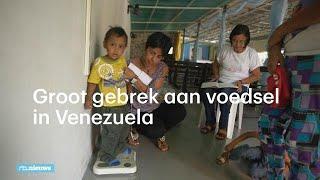 Crisis in Venezuela: 'Ik zoek eten voor mijn kinderen en eet zelf maar niet' - RTL NIEUWS
