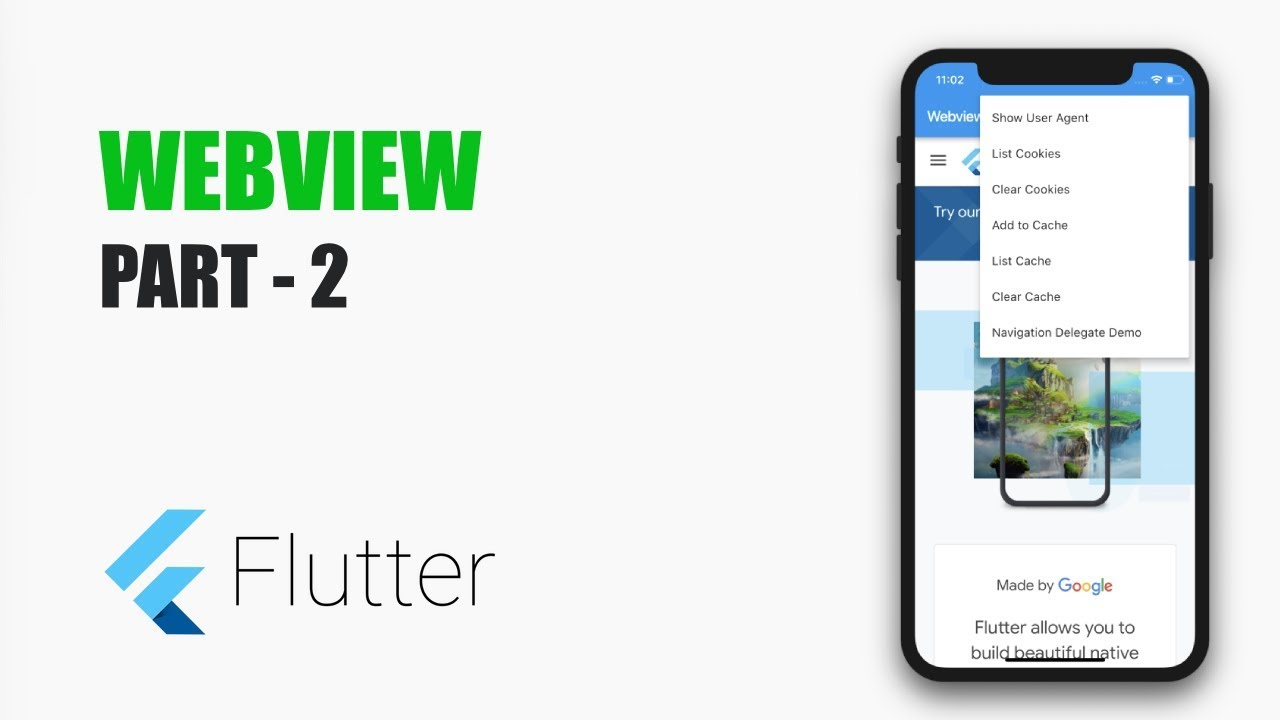 Webview in Flutter – Part 2 – MOBILE PROGRAMMING