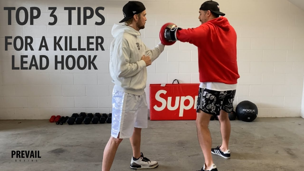 Boxing Fundamentals: 3 Tips for a Killer Lead Hook - YouTube