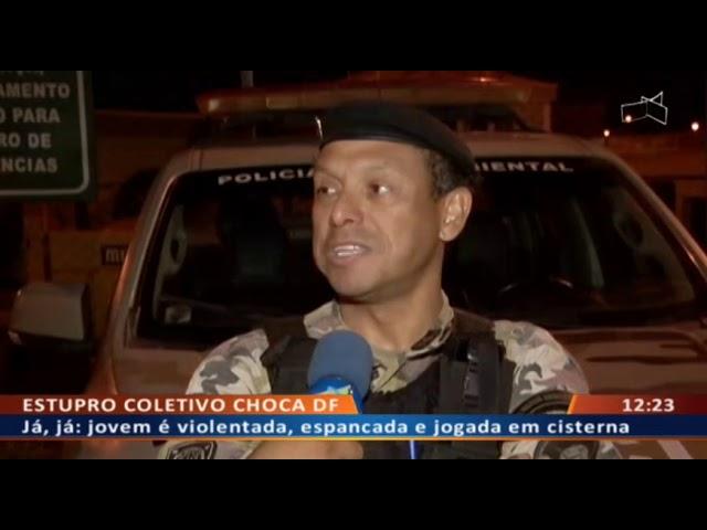DF ALERTA - Bandido armado usa mulher e filho para despistar polícia