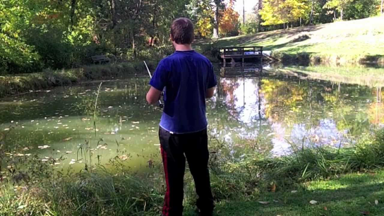 Pond bass fishing with assorted baits youtube for Best bait for pond fishing