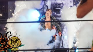 AEW FANS SING JUDAS AS LE CHAMPION MAKES HIS WAY TO THE RING | AEW DYNAMITE JERICHO CRUISE EDITION