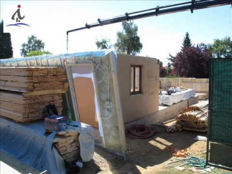 Proceso de construcci n de una casa de entramado ligero o canadiense youtube - Casas entramado ligero ...