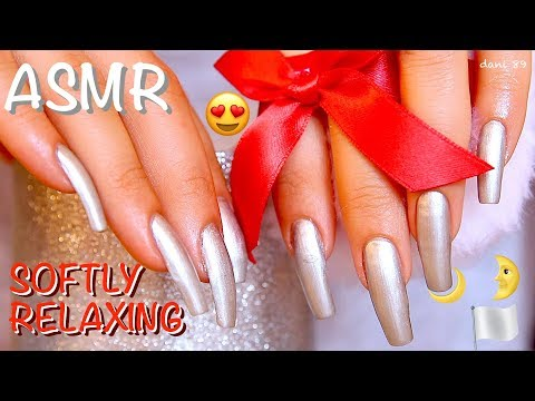 ❀ Most voted 🏳️ SILVER THEME 😍 🎧 1H of binaural ASMR ✶ SCRATCHING & tapping + new TRIGGERS for You 😴