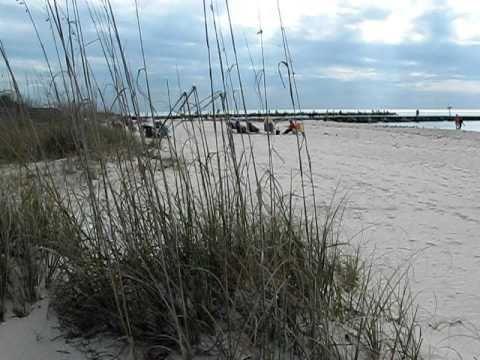 beach at casey key nokomis florida youtube. Black Bedroom Furniture Sets. Home Design Ideas