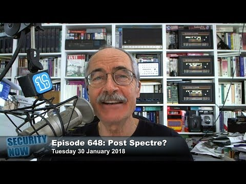Security Now 648: Post Spectre?