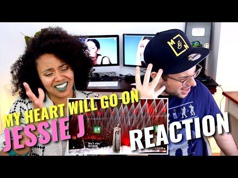 Jessie J - My Heart Will Go On | Episode 9 | Singer 2018 | REACTION