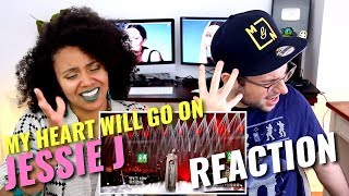 Jessie J - My Heart Will Go On | Episode 9 | Singer 2018 | REACTION