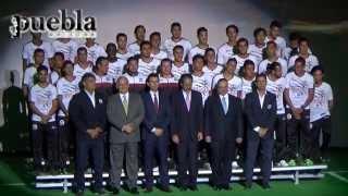 Presentación Lobos BUAP Apertura 2015 de la Liga de Ascenso MX