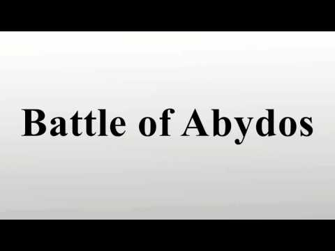 Battle of Abydos