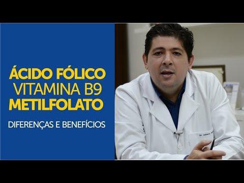 Ácido fólico, Vitamina B9, Metilfolato - Diferenças e benefícios