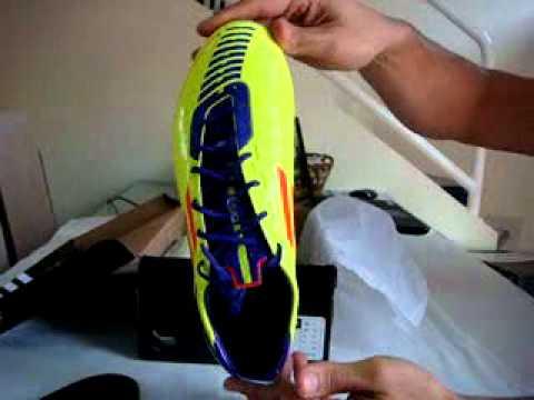 dfbf8c10ec00b Chuteira Adidas F50 Adizero SG - Mercado Livre - YouTube