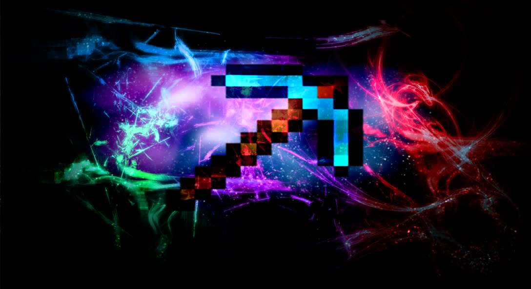 minecraft backgrounds pickaxe youtube