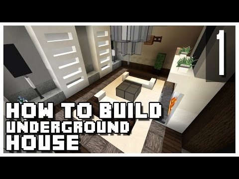 How to Build an Underground House in Minecraft - Part 1