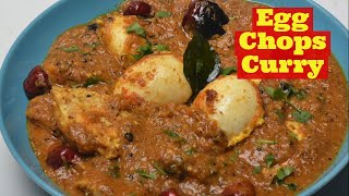 Egg Pepper Chop Curry - Spicy Egg Curry