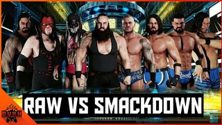 WWE 2K18 RAW VS SMACKDOWN [ TRADITIONAL SURVIVOR SERIES ELIMINATION MATCH ]