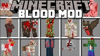 Minecraft BLOOD MOD / FIGHT AND SURVIVE THE EVIL BLOOD MONSTERS !! Minecraft