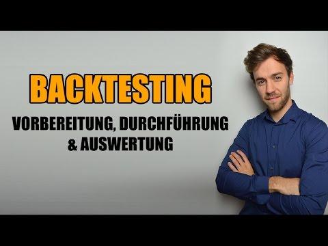 Strategie Entwicklung Teil 1: Backtesting, aber richtig | Traden lernen - deutsch