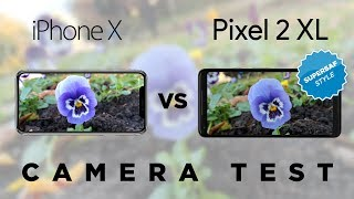 iPhone X vs Pixel 2 XL Camera Test Comparison