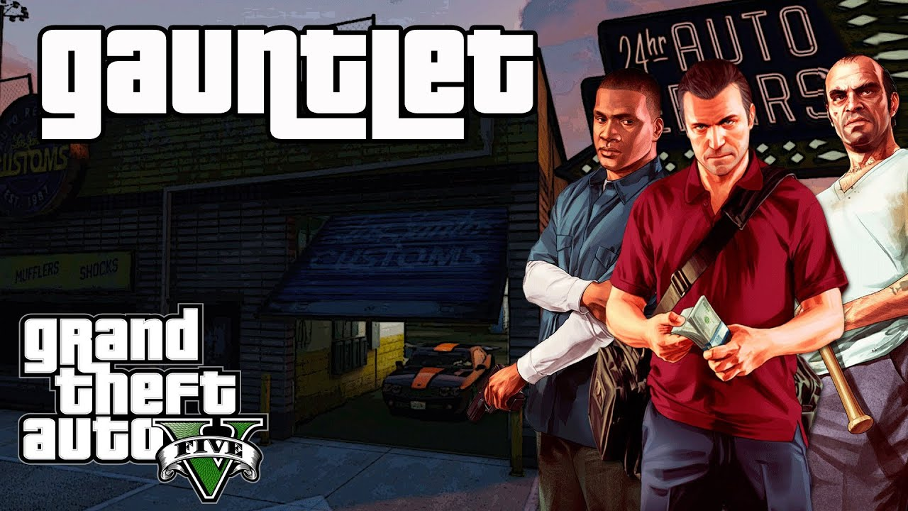 Grand Theft Auto  Gta V Gauntlet Mission   Find All  Muscle Car Locations  Completion Youtube